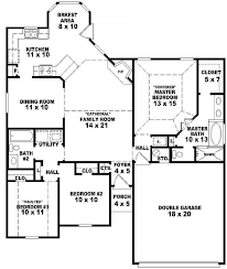 French Style Floor Plans 58 3 Bedroom 1 Floor Plans Floor Plan For A Small House 1 150 Sf