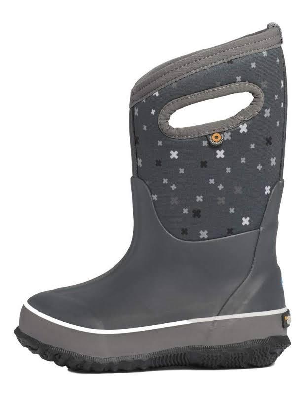 Bogs Classic Plus Gray Multi Medium 3 72278-062-M-