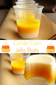 halloween candy corn jello shots recipe