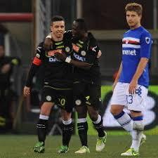 Pertandingan Sampdoria vs Udinese