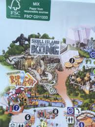 Orlando Universal Studios Map by Inside Universal On Twitter