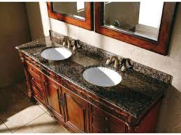 White Bathroom Vanity With Granite Top by Bathroom Traditional Bathroom Vanity With Brown Wooden Materials