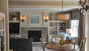 Cottage Style Family Room Addition Edina - Family room addition