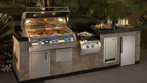 Ideas For Outdoor Kitchen Peerless Outdoor Kitchens Big Green Egg With Wall Mounted Kitchen