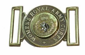 Women\u0026#39;s Royal Amy corps belt buckle. Women\u0026#39;s Royal Amy corps belt buckle - womens_royal_army_corps