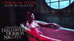 crimson peak haunted house maze walk through halloween horror