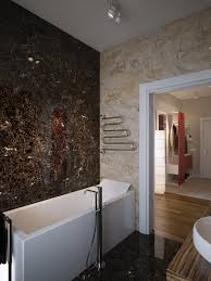 best fresh marble and glass tile bathroom 6748