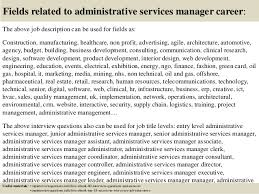 Top    administrative services manager interview questions and answers SlideShare