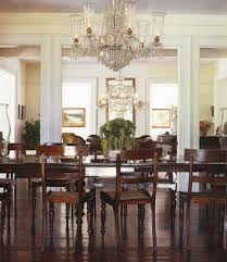 Chandelier Lighting For Dining Room Dining Room Awesome Dining Room Design With Dark Brown Rectangular