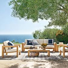 Outdoor Furniture Teak Sale by Larnaca Outdoor Coffee Table Williams Sonoma