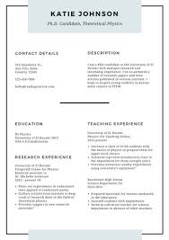 Scholarship Resume Examples by Resume Templates Canva