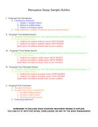 essay outline with thesis FlexAngle