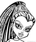 Monster High Nefera De Nile Coloring Pages - Free Printable ...