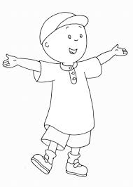 caillou coloring pages u2013 birthday printable