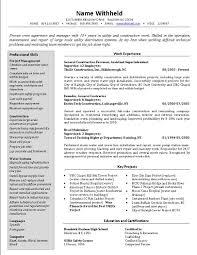 sample resume templates security supervisor resume sample a one page supervisors resume film resume sample breakupus winning supervisor resume template supervisor resume templates