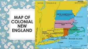 Map Of The New England Colonies by Beginnings Of English America Ppt Download