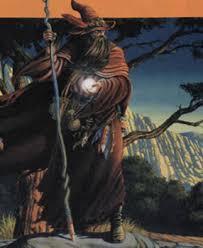 El mago Merlín.