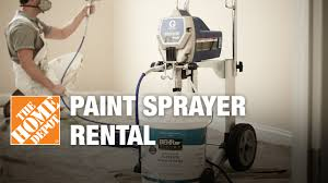 Home Depot Interior Paint Brands Paint Sprayer Rental The Home Depot Youtube
