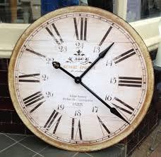 very big wall clocks