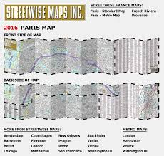 Sf Metro Map by Streetwise Paris Map Laminated City Center Street Map Of Paris