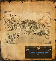 Bal Foyen Treasure Map 1 Eso Imperial Edition Mappe Del Tesoro Treasure Maps Seo
