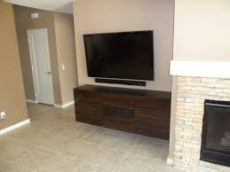 Wall Mounted Cupboards Besta Floating Media Cabinet With Flat Panel Tv Ikea Hackers