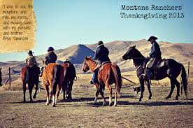 thanksgiving horse pictures montana stockgrowers associationranching family archives montana
