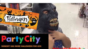 party city trip costumes scary mask for halloween youtube