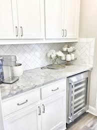 Kitchen Backsplash White Cabinets HBE Kitchen - Kitchen with backsplash