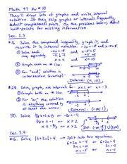 Midterm Exam   on Intermediate Algebra   MATH     INTERMEDIATE     Course Hero