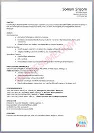 Flight Attendant Job Description Resume by Sample Of Flight Attendant Resume Free Resume Example And