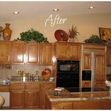 100 what to put above my kitchen cabinets ways to fix space