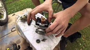 2007 suzuki quadsport z250 manual 2 stroke carburetor rebuild rm 250 part 1 youtube