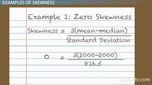 Resume Definition Skewness In Statistics Definition Formula U0026 Example Video
