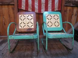 Mesh Patio Chair Compact Metal Outdoor Furniture Vintage 56 Metal Patio Furniture