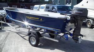 quicksilver 450 dlx aluminium boat with 30hp tohatsu for sale in