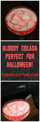 bloody colada recipe simple halloween cocktails and cocktail