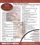 TEN RESTAURANT Wine Bar | Taste Am Portal