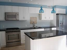 Reviews Of Ikea Kitchen Cabinets Furniture White Woodmark Cabinets With Modern Refrigerator For