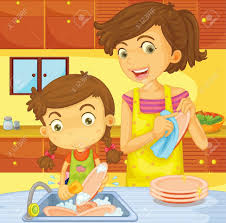 Children helping at home   report    web fc  com Children helping at home