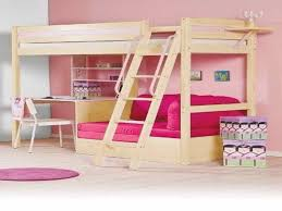 Diy Loft Bed Plans With A Desk Under Related Post From Loft Bed - Kids bunk bed with desk