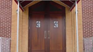 wooden double doors exterior design for home youtube
