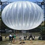 Alphabet Says Balloons Beat Drones for Internet Delivery