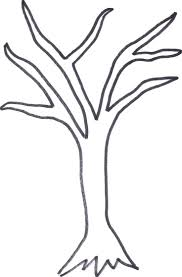 outline of a tree drawing free download clip art free clip art