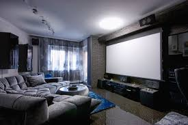 home theater in the living room a few tips youtube homes design
