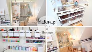 cosmetic storage solutions affordable makeup storage solutions cosmetic storage solutions dose of lisa pullano my makeup tour storage ideas trends