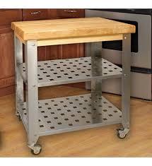 stainless steel kitchen island cart in kitchen island carts