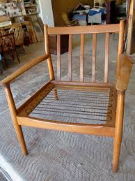 How To Stop Swivel Chair From Turning How To Refinish A Vintage Midcentury Modern Chair Diy