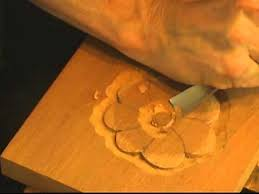 beginning woodcarving how to carve a basic flower with mary may