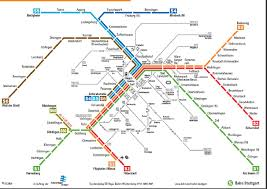 Sf Metro Map by This Map Received Significant Study On My Trip Stuttgart Train